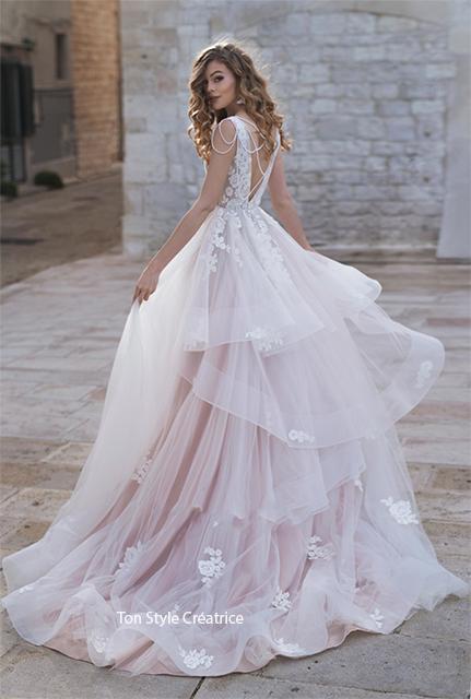 Robe de mariée bohème Gard