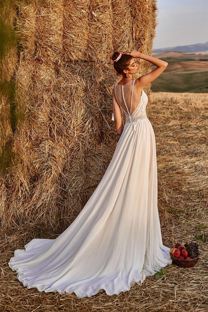 Robe de mariée champêtre pas cher