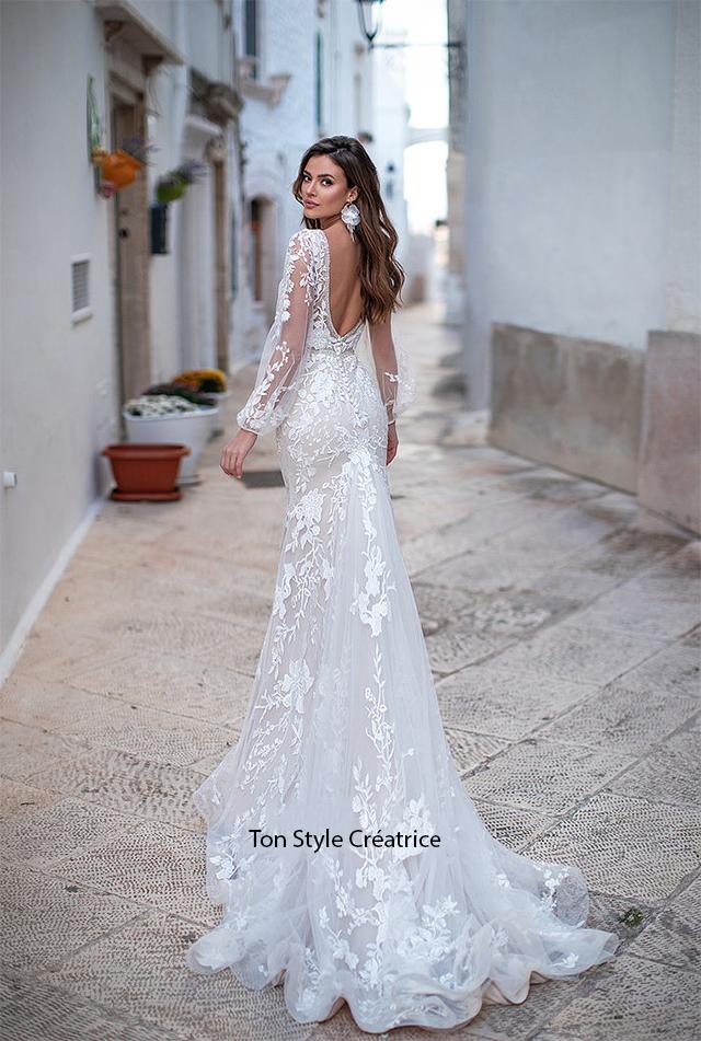 Robe de mariée foureau