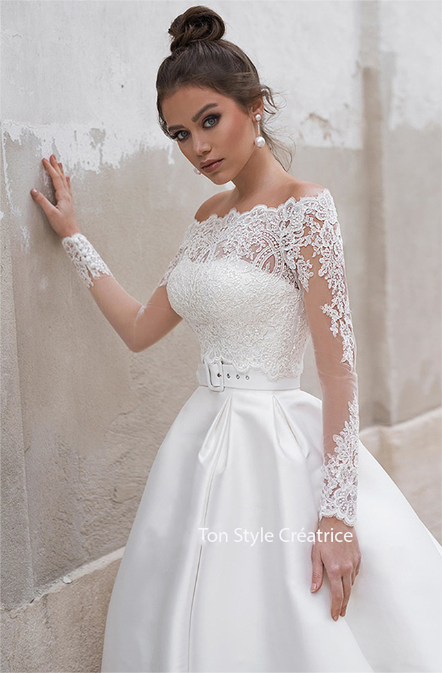 Robe de mariée princesse pas cher Gard
