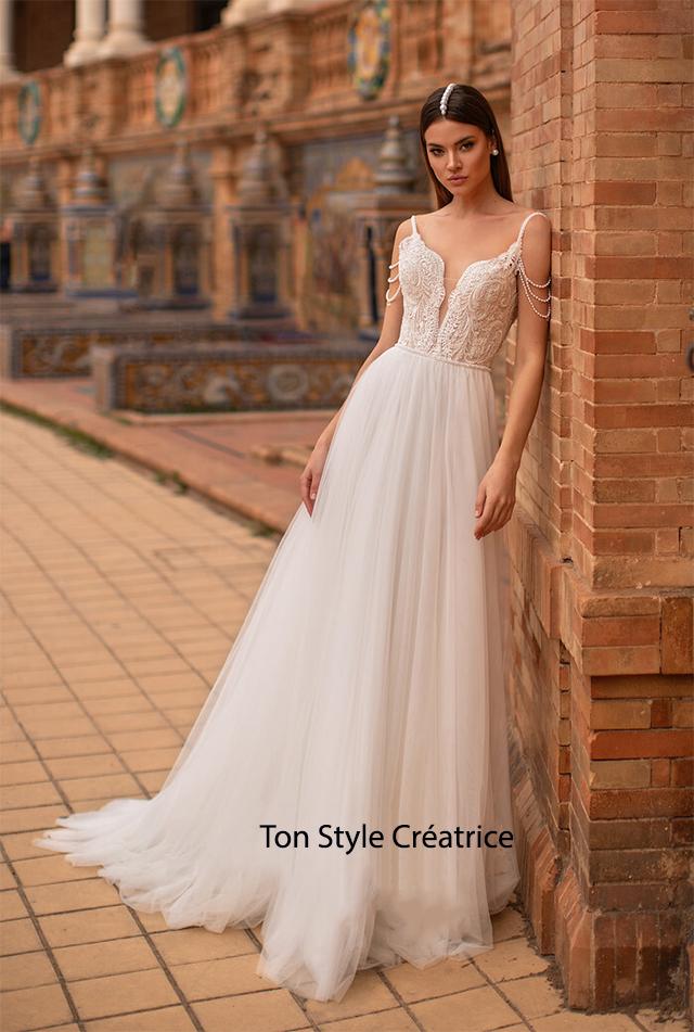 Robe de mariée bohème orientale pas cher Gard